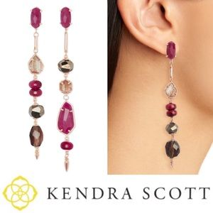 Kendra Scott Cosette Statement Earrings | Pink